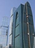 Mosca, costruzione moderna Fotografie Stock Libere da Diritti