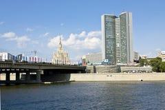 Mosca, costruzione moderna Fotografia Stock