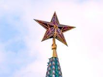 Mosca Cremlino stella sera maggio 2011 Fotografie Stock