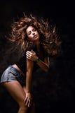 Mosca dei capelli fotografia stock libera da diritti