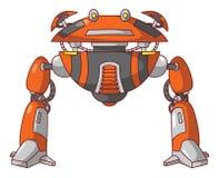 Mosca do robô ilustração do vetor