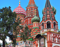 Mosca, entrata della cattedrale Fotografia Stock