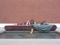 Mosca, fiamma eterna Fotografia Stock Libera da Diritti