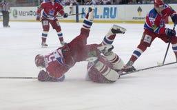 Guerra del ghiaccio Fotografia Stock