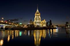 Mosca, hotel Immagini Stock Libere da Diritti
