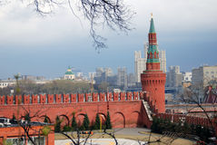 Mosca Kremlin Foto a colori Immagini Stock Libere da Diritti