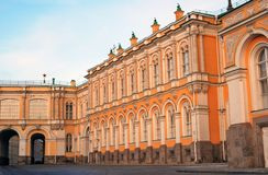 Mosca Kremlin Foto a colori Immagine Stock