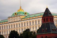 Mosca Kremlin Luogo del patrimonio mondiale dell'Unesco Immagini Stock Libere da Diritti