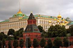 Mosca Kremlin Luogo del patrimonio mondiale dell'Unesco Fotografia Stock Libera da Diritti