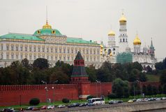 Mosca Kremlin Luogo del patrimonio mondiale dell'Unesco Immagini Stock
