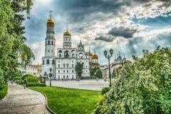 Mosca Kremlin, Russia Immagine Stock Libera da Diritti