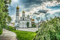 Mosca Kremlin, Russia Immagine Stock