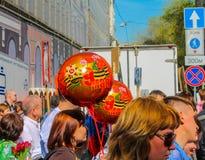 Mosca 9 maggio Immagini Stock Libere da Diritti