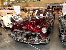 MOSCA - 9 MARZO: Retro automobile Buick otto all'interno XXI Fotografia Stock