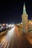 Mosca non dorme mai Fotografia Stock Libera da Diritti