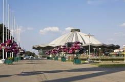 Mosca, nuovo circo Fotografia Stock