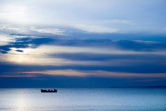 Mosca - pesca-Calo immagini stock libere da diritti