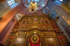 MOSCA, RUSSIA - AGOSTO 2015: Cattedrale di StBasil Fotografia Stock