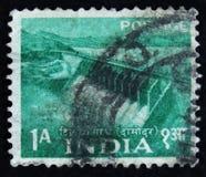 MOSCA, RUSSIA - 2 APRILE 2017: Un bollo della posta stampato in India SH Immagini Stock Libere da Diritti