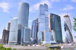 Mosca, Russia, giugno, 02,2014 Scena russa: Centro internazionale di affari Immagini Stock Libere da Diritti