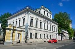 Mosca, Russia, 12 giugno, 2017, scena russa: proprietà antica del G V Chetverikov, E n Malyutin, A Y Elagina Fotografia Stock Libera da Diritti