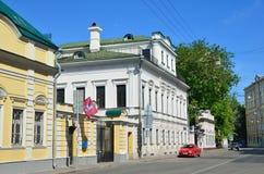 Mosca, Russia, 12 giugno, 2017, scena russa: proprietà antica del G V Chetverikov, E n Malyutin, A Y Elagina Fotografie Stock Libere da Diritti