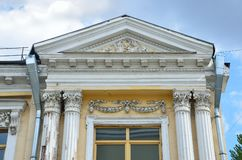 """Mosca, Russia, maggio, 19, 2017 Alloggi il nessun palazzo di Rutkovsky 1888 anni costruito, architetto del †5"""" V B Rutkovsky in Immagini Stock"""