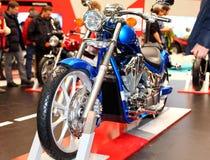 MOSCA, RUSSIA - MARCH-02-2013: decimi Motociclo internazionale ex Immagini Stock