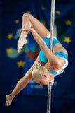 MOSCA, RUSSIA - 22 MARZO: Elite 2014 di sport di Palo il 22 marzo 2014 a Mosca, Russia Fotografie Stock Libere da Diritti