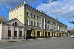 Mosca, Russia - 14 marzo 2016 proprietà terriera Zakrevsky dell'Savigny-ala e banca di Investimento di fiducia Fotografia Stock Libera da Diritti