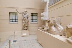 Mosca, Russia - 29 ottobre 2015: Museo di Pushkin Fotografie Stock Libere da Diritti