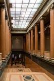 Mosca, Russia - 29 ottobre 2015: Museo di Pushkin Fotografia Stock Libera da Diritti