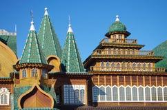 MOSCA, RUSSIA - 21 ottobre 2015: Palazzo dello zar Alexei Mikhail Immagini Stock