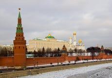 Mosca, vicino alla zona rossa. Fotografia Stock Libera da Diritti