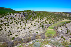 Moscardon La Canada Sierra Albarracin in Teruel Royalty Free Stock Photography