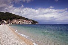 Moscenicka Draga beach Stock Images