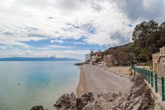 Moscenicka Draga - Croatia - in the Spring Royalty Free Stock Photo