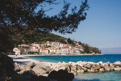 Moscenicka Draga in Croatia Royalty Free Stock Photography