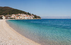 Moscenicka Draga in Kroatië Royalty-vrije Stock Afbeeldingen