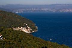 Moscenicka Draga town Royalty Free Stock Image