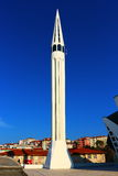 Mosch y cielo azul Foto de archivo libre de regalías