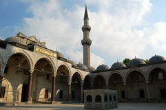 Moschea 2 di Soleymaniye Fotografia Stock