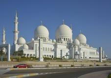 Moschea in Abu Dhabi Immagini Stock