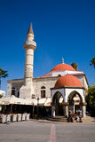 Moschea, agora, Kos Fotografia Stock Libera da Diritti