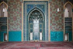 Moschea all'interno Fotografie Stock