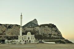 Moschea alla Gibilterra Fotografia Stock Libera da Diritti