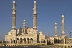 Moschea alla notte Fotografia Stock Libera da Diritti