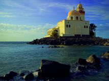 Moschea alla riva di Mar Rosso 2 Fotografie Stock