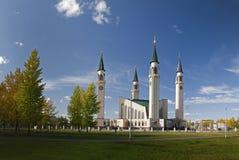 Moschea in autunno Immagine Stock Libera da Diritti