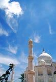 Moschea bianca Fotografie Stock
